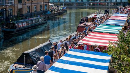 Angel Canal Festival earlier this month. Picture: SJORNA ASHBY/KIM GILL