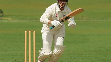 Highgate in batting action in the Middlesex County League (pic: Michael Clarke/Highgate CC).