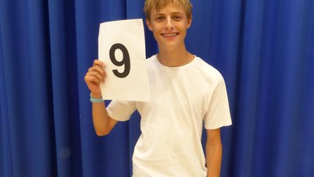 City of London Academy student Asa Rogers bagged a 9 grade in history. Photo by City