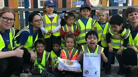 Nurseries in Islington have been deemed eco-schools are being recognised for their work. Picture: Th