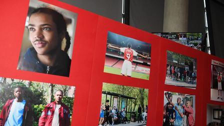 The film Drawn Out has been screened at the Emirates. CREDIT: Stuart MacFarlane/ARSENAL FC