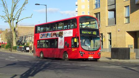 The 476 bus. Picture: David Holt (CC BY 2.0)