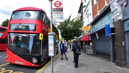 The 48 bus is under threat. Picture: POLLY HANCOCK
