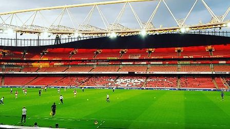 Arsenal U23s beat Spurs U23s 2-1 at the Emirates on Friday evening. CREDIT @laythy29