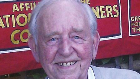 Former Islington councillor and life-long socialiest, George Durack, has died aged 94. Picture: Isli