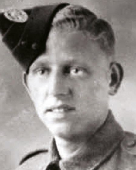 George Durack was born in Cally but served his country in the Second World War. Picture: Islington C