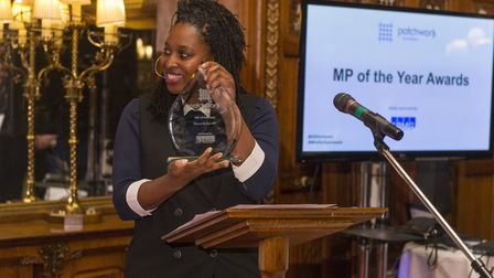 Dawn Butler at the Patchwork - MP of the Year Awards 2017 Ceremony (Picture: Alastair Fyfe)