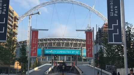 The view of Wembley's famous arch is being eaten away. Picture: NATHALIE RAFFRAY