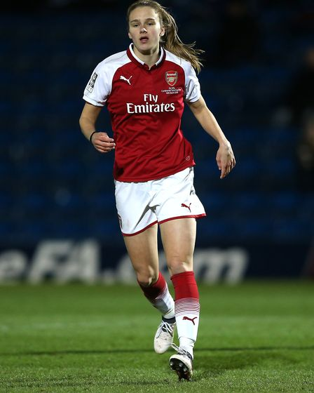 Arsenal Women's Vivianne Miedema (pic Nigel French/PA)