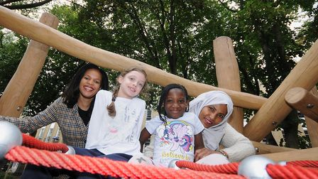 Milner Square Gardens has been revamped by Islington Council. Picture: Islington Council