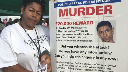 Vanessa Hyman continues to seek justice for her son Anton, fatally stabbed and shot on Mother's Day