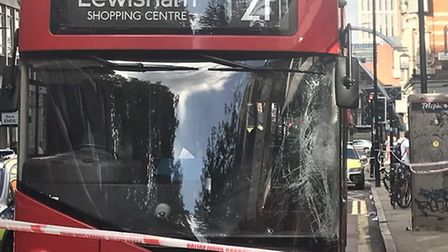 There was an accident involving a bus and a pedestrian in City Road. Picture: Samir Jeraj
