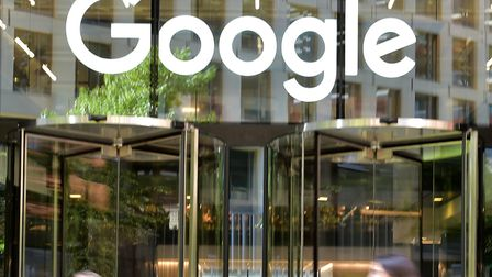 Entrance to Google head offices in Kings Cross, London. Picture: PA