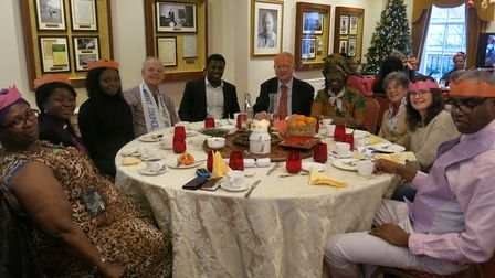 Dame Betty organised a day out for Tudor Gardens Care Home patients who enjoyed Christmas lunch at L