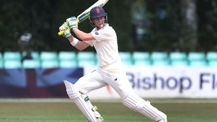 Middlesex batsman Nick Gubbins in action for England Lions (pic Nick Potts/PA)