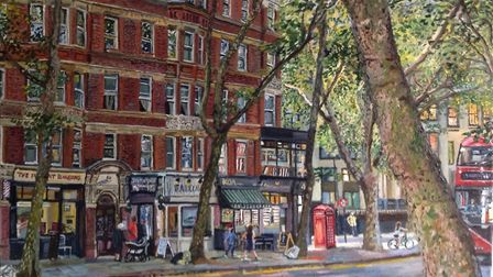 Rosebery Avenue by Melissa Scott-Miller