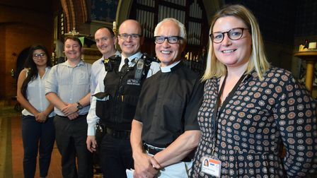 Pictured at a Highbury West ward partnership meeting in July, at which concerns about drug dealing w