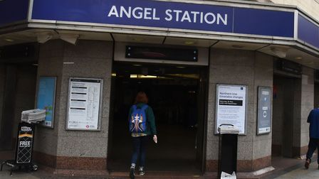 The Angel station.Picture:Ken Mears