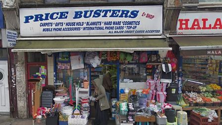 Price Busters caught selling knives to 15-year-old in sting operation. Picture: Google