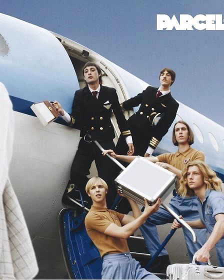 The cover of Parcels' debut, self-titled album