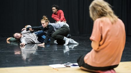 Members of the Young Associates in rehearsals. Image: Stephen Wright
