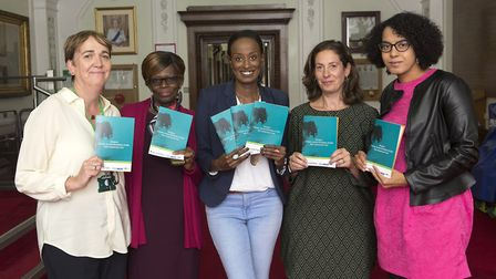 The launch of the FGM Risk Assessment Tool. Islington Council's youth chief Catherine Briody, FGM mi