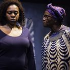 Gloria Williams and Anni Domingo in Bullet Hole at The Park Theatre