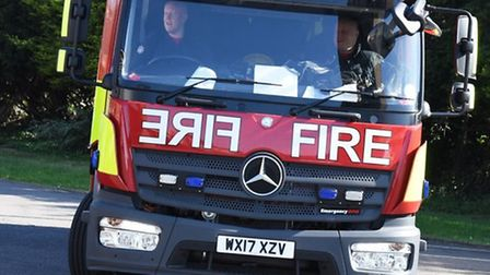 Firefighters are tackling a blaze in Harlesden.