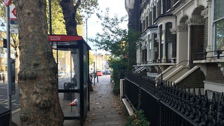 An 18-year-old was stabbed in Grosvenor Avenue on Monday evening. Picture: Lucas Cumiskey