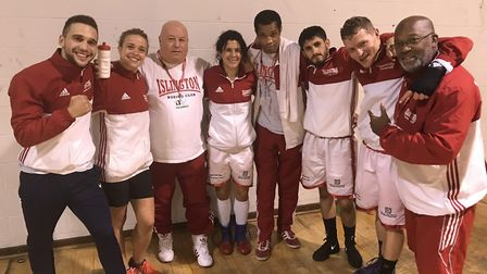 Seven Islington fighters are in England Boxing National Development Championships finals on Sunday (