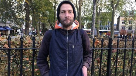 Homeless Neculai Popa died in Islington. Photo: THE BIG ISSUE