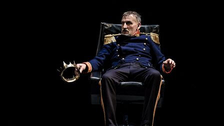 Christopher Ecclestone as Macbeth at The Barbican Photo Credit : The Other Richard