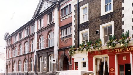 Caledonia Street, King's Cross laundry in 1990. Picture: Islington Local History Centre. Picture: Is