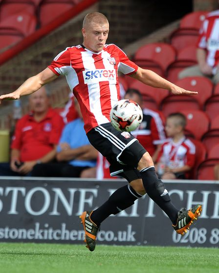 Jake Bidwell made over 200 appearances for Brentford before joining Queens Park Rangers (pic: Robin