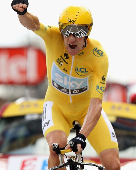 'Wiggo' came from Kilburn and conquered the world in 2012 when he won the Tour de France and Olympic