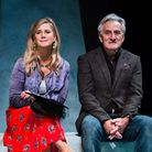 Imogen Stubbs and Henry Goodman in Honour at The Park Theatre picture Alex Brenner