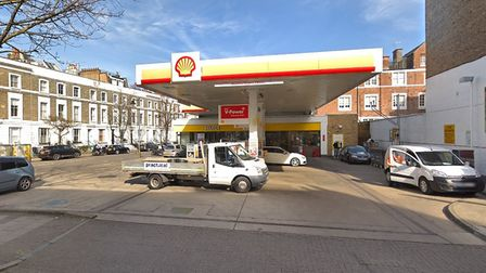 The Upper Street shell garage. Picture: Google