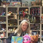 Jane Garfield at The Toy Project. Picture: Emily Webber