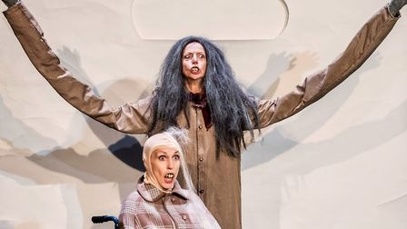 Abigail Dooley and Emma Edwards' two-woman show brings a hilarious twist to a sometimes sensitive to
