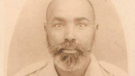 Yusuf Dualeh Amarreh, Somaliland postmaster general who fought in the First World War. Pic: SAAFI