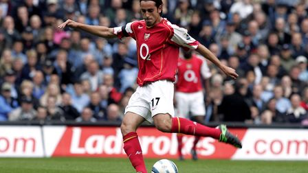 Edu in action for Arsenal (pic Phil Noble/PA)