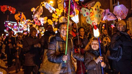 Light Up the Night, a free event in Wembley Park.