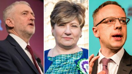 Islington leaders including (L-R) Jeremy Corbyn, Emily Thornberry and Richard Watts have called for