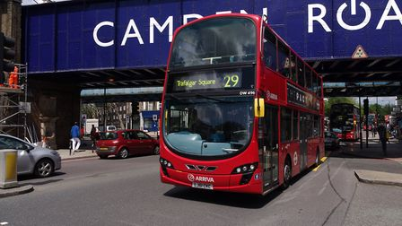 """The 29 bus has become """"symbolic"""" for many Greek Cypriots living in north London. Picture: Matt Buck"""
