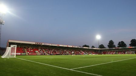 Arsenal travelled to play Cheltenham Town's Whaddon Road. PA