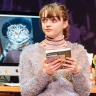 Maisie Williams as Caroline in I and You at Hampstead Theatre picture: Manuel Harlan