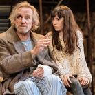 Nicholas Farrell and Clara Read in The Wild Duck at The Almeida picture by Manuel Harlan