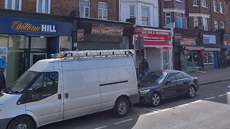 There was a police cordon up near William Hill this morning, following a mass brawl on Seven Sisters