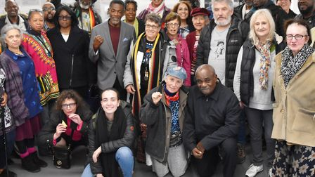 South Kilburn community gathered for a Black History Month event 'Confronting the hostile environmen
