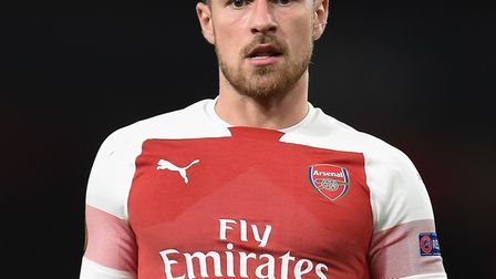 Aaron Ramsey of Arsenal. Picture by Martyn Haworth. 07463250714